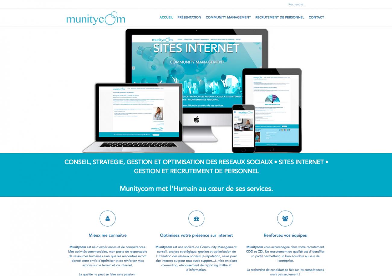 Site internet créé par Munitycom castelnaudary munitycom.com